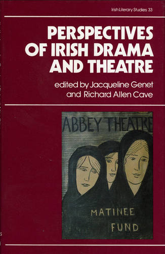 Perspectives on Irish Drama and Theatre - Irish Literacy Studies Series 33 (Hardback)