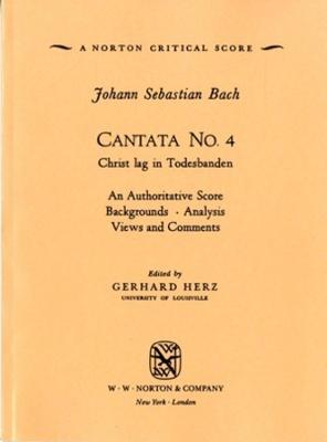 Cantata No. 4 - Norton Critical Scores (Paperback)