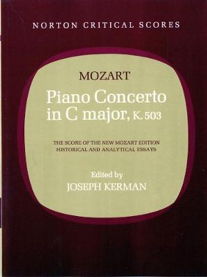 Piano Concerto in C Major, K. 503 - Norton Critical Scores (Paperback)