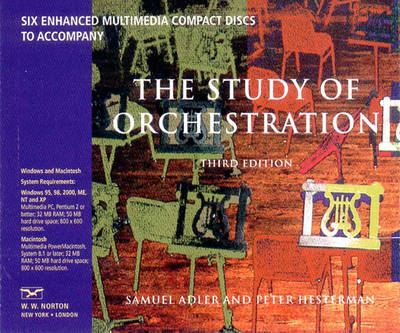 Recordings: for The Study of Orchestration, Third Edition (CD-ROM)