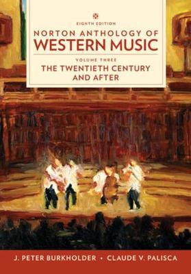 Norton Anthology of Western Music (Paperback)