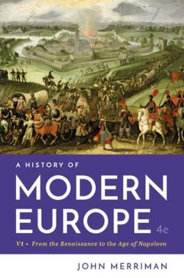 A History of Modern Europe (Paperback)