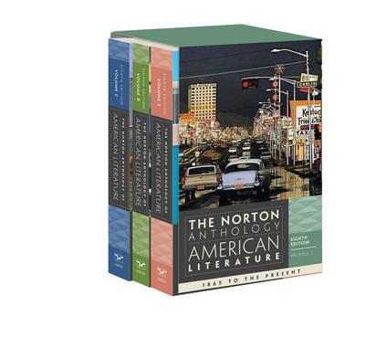 Norton Anthology of American Literature 8E Volume C + D + E (Paperback)