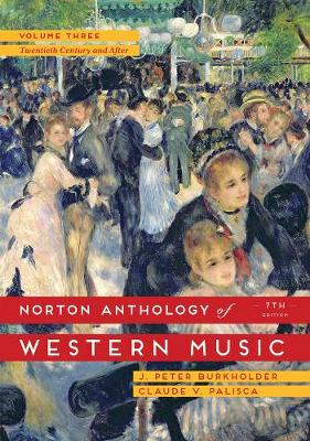 The Norton Anthology of Western Music (Spiral bound)