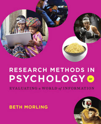 Research Methods in Psychology: Evaluating a World of Information (Paperback)