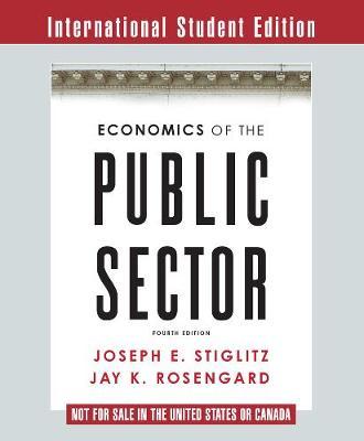 Economics of the Public Sector (Paperback)