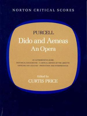 Dido and Aeneas: An Opera (Paperback)