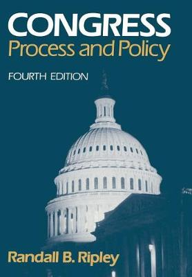 Congress: Process and Policy (Paperback)