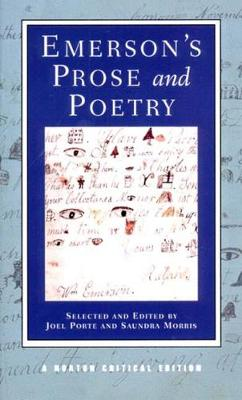 Emerson's Prose and Poetry - Norton Critical Editions (Paperback)