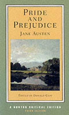 Pride and Prejudice - Norton Critical Editions (Paperback)