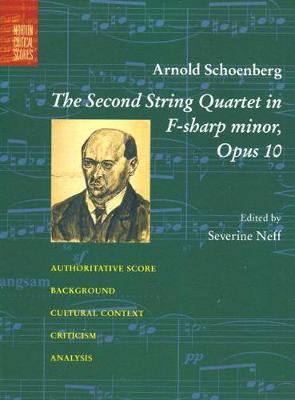 The Second String Quartet in F-Sharp Minor: Opus 10 (Paperback)
