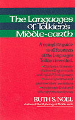 Language of Tolkien's Middle Earth (Paperback)