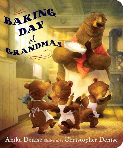 Baking Day at Grandma's (Board book)