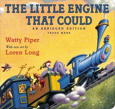Cover of the book, The Little Engine That Could.