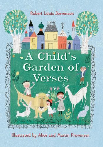 Robert Louis Stevenson's A Child's Garden of Verses - Golden Books Edition (Hardback)