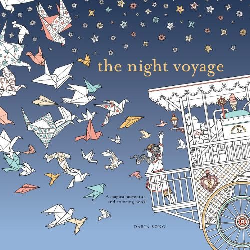 Coloring Books For Adults Waterstones Night Voyage By Daria Song