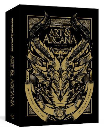 Dungeons and Dragons Art and Arcana: Special Edition, Boxed Book and Ephemera Set: A Visual History (Hardback)