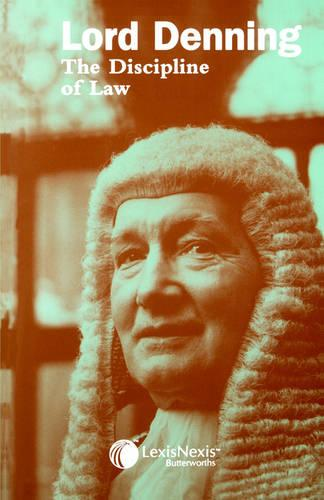 The Discipline of Law (Paperback)