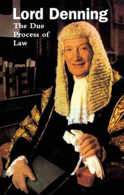 The Due Process of Law (Paperback)