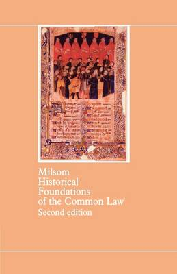 Historical Foundations of the Common Law (Paperback)