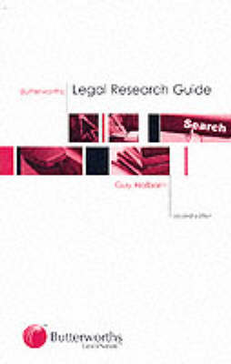 Butterworths Legal Research Guide (Paperback)
