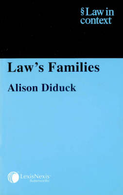 Law's Families - Law in Context (Paperback)