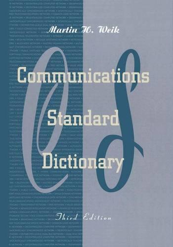 Communications Standard Dictionary on CD-ROM (Hardback)