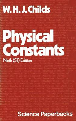 Physical Constants: Selected for Students (Paperback)