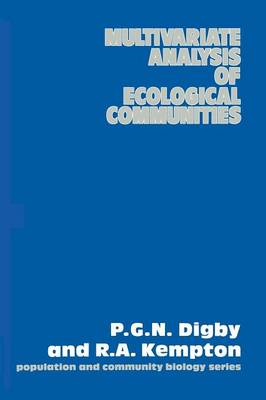 Multivariate Analysis of Ecological Communities - Population and Community Biology Series 5 (Paperback)