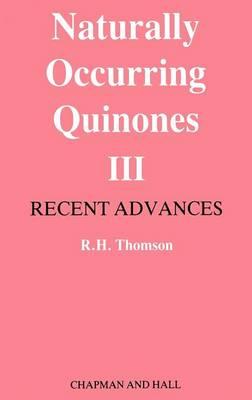 Naturally Occurring Quinones (Hardback)