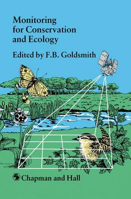 Monitoring for Conservation and Ecology - Conservation Biology 3 (Paperback)
