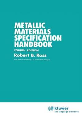 Metallic Materials Specification Handbook (Hardback)