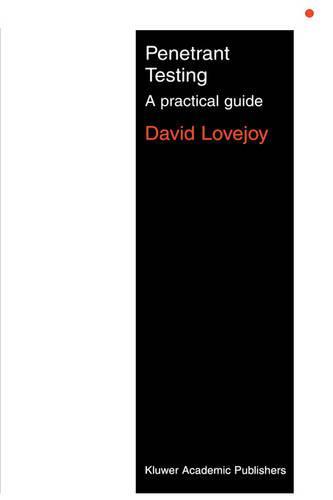 Penetrant Testing: A practical guide (Paperback)