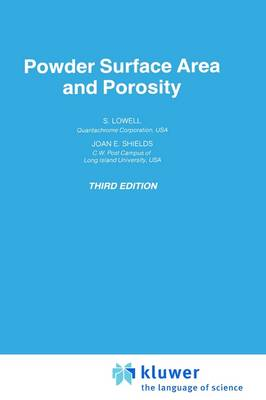 Powder Surface Area and Porosity - Particle Technology Series 2 (Hardback)