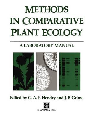 Methods in Comparative Plant Ecology: A laboratory manual (Hardback)