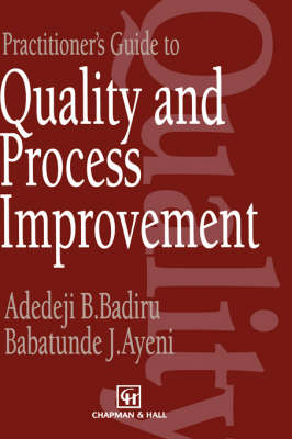 Practitioner's Guide to Quality and Process Improvement (Hardback)