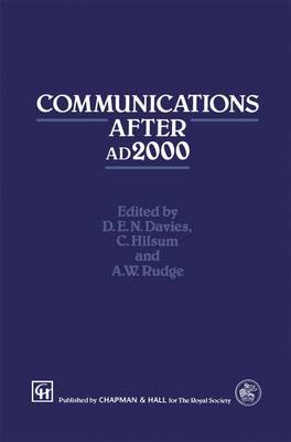 Communications After ad2000 (Hardback)