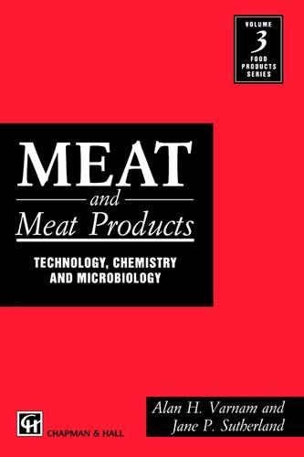 Meat and Meat Products: Technology, Chemistry and Microbiology - Food Products Series 3 (Paperback)