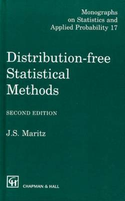 Distribution-Free Statistical Methods, Second Edition - Chapman & Hall/CRC Monographs on Statistics and Applied Probability 17 (Hardback)