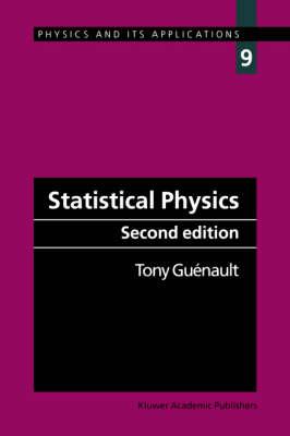 Statistical Physics - Physics & Its Applications No.9 (Paperback)