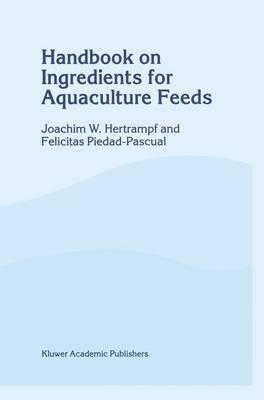 Handbook on Ingredients for Aquaculture Feeds (Hardback)