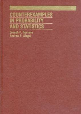Counterexamples in Probability And Statistics (Hardback)
