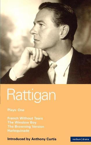 """Rattigan Plays: """"French without Tears"""", """"The Winslow Boy"""" """"The Browning Version"""" """"Harlequinade"""" v.1 - World Classics (Paperback)"""