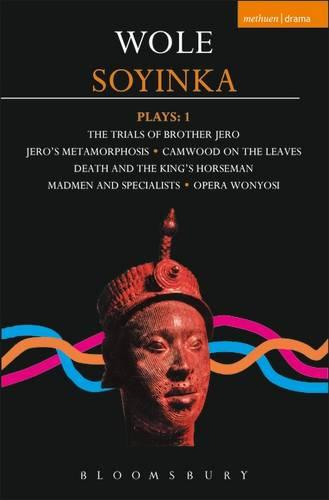 """Soyinka Plays: """"Brother Jero""""; """"Camwood on the Leaves""""; """"Death and the King's Horseman""""; """"Madmen and Specialists""""; """"Opera Wonyosi"""" v. 1 - Contemporary Dramatists (Paperback)"""