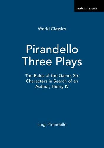 Pirandello Three Plays - World Classics (Paperback)