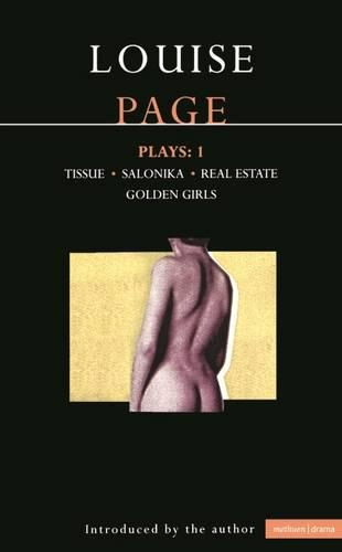 """Page Plays: """"Tissue"""", """"Salonika"""", """"Real Estate"""", """"Golden Girls"""" v. 1 - Contemporary Dramatists (Paperback)"""