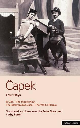 "Capek Four Plays: ""R. U. R"".; ""The Insect Play""; ""The Makropulos Case""; ""The White Plague"" v.1 - World Classics (Paperback)"