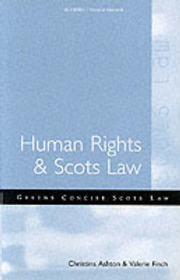 Human Rights and Scots Law (Paperback)