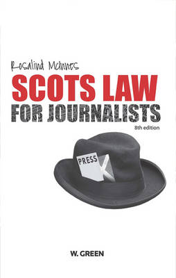 Scots Law for Journalists (Paperback)