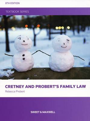 Cretney and Probert's Family Law (Paperback)